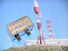 LNA DVB-T UHF super low noise amplifier gain 32dB 0.4dB amplificador filtro GSM