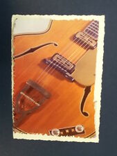 .ad/ handmade greeting card with 1959 HOFNER GUITAR