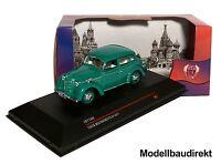 Moskwitch 401 Bj 1955 in Grün 1:43 IXO / IST180 IST 180  Cars&Co NEU & OVP