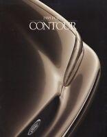 1995 Ford Contour CDN Original Sales Brochure Book