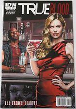 True Blood 4 French Quarter IDW Comics VF 1st Printing Cover A Huehner Sookie