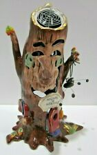 Blue Sky Clayworks Heather Goldminc Welcome To Websters Halloween Ceramic Tree