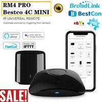 Broadlink RM PRO RM4 Bestco 4C Mini Smart Remote Control WIFI IR RF Switch UK