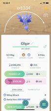 Shiny Gligar Pokemon Go Trade - Random Moveset & CP