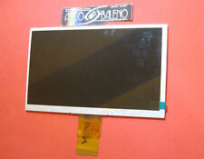 "GLS: DISPLAY LCD PER LISCIANI MIO TAB SMART EVOLUTION MP0100887 HD 7"" RICAMBIO"