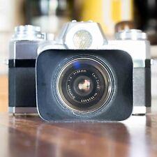 Carl Zeiss Ikon Contarex Bullseye Distagon 35mm 1:4 + matching hood