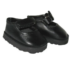 Black Mary Jane Shoes Fits 18 inch American Girl Dolls