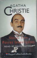 Agatha Christie Stories From Poirot Investigates Cassette Audio Book Suchet