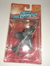 Matchbox Sky Busters Marines Harrier 1989 MOC FREE SHIPPING