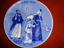 """Porsgrunds,Norway,1975 Christmas,Porcelain,Plate , """"Jesus On The Way To Temple""""-"""