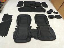 Leather Seat Covers Fits 2013 2014 2015 Honda Accord Black Liquidation!