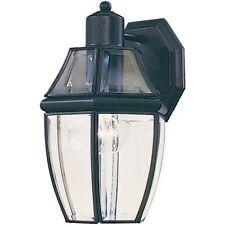 Maxim South Park 1-Light Outdoor Wall Lantern Black - 4010Clbk
