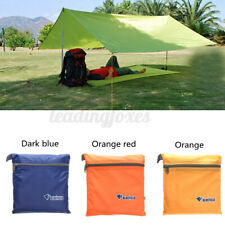 Outdoor Waterproof Military Camping Tent Tarp Sun Shelter Rain Cover Awning  -