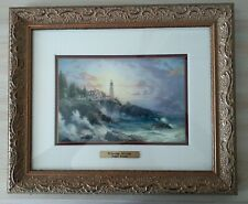 Thomas Kinkade Framed Clearing Storms Accent Print with Coa