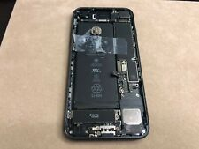 As-is OEM Matt Black Apple iPhone 7 Back housing With motherboard for Parts *A4