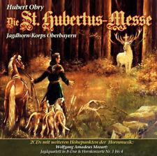 CD Les st Hubertus messe Hubert Obry 2cds jagdhorn-concert