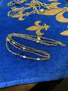 James Avery New Marjan Necklace With Cultured Pearls