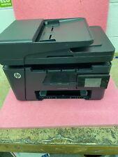 "HP LaserJet Pro MFP M127fw Printer All-in-one USB Wi-Fi LAN 3.5"" LCD"