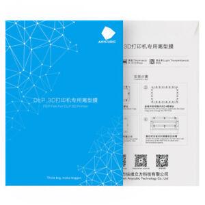 1/5 Stück ANYCUBIC FEP Film Teflonfolie 140*200*0,15mm für LCD 3D Drucker