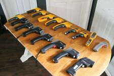 Lot Of Infrared Digital Thermometers For Parts Fluke And Raytek