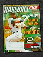 MAY/JUNE 2013 BASEBALL DIGEST: YOENIS CESPEDES  on Cover