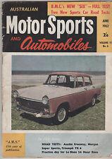 Australian Motor Sports 1962 Jun Triumph TR4 Morgan Nota Bathurst Lowood Calder