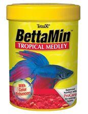Tetra BettaMin Flakes Medley .81oz Free Shipping