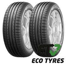 2X Tyres 195 50 R15 82V Dunlop Sport BlueResponse C B 67dB
