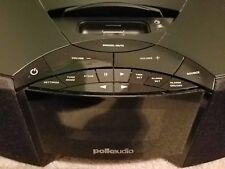 Polk Audio I-Sonic AM/FM Clock Radio Ipod Dock w Built-In Speakers No Remote