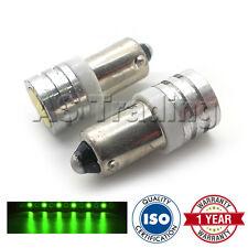 2x XENON VERDE ba9s t4w 233 Luce Laterale Aggiornamento SMD LED Lampadine
