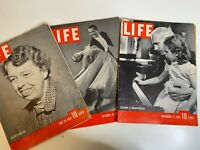 Life Magazine Set of 3 Issues 1939 May 29, October 30, November 27