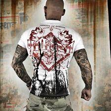 Neues Yakuza Herren Priests Of Sodom Polo Shirt - Weiß