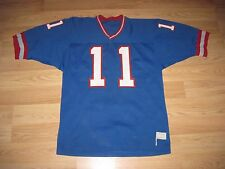 Vintage Medalist Sand Knit N.Y. Giants Phil Simms Football Jersey/Free Shipping!