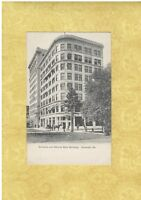 GA Savannah 1901-08 UDB postcard GERMANIA & NATIONAL BANK Georgia