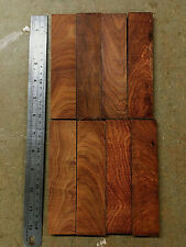 Pau Rosa East African Rosewood offcuts jewellery crafts knife scale 7-10mm B8