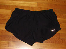 NEW NIKE DRI-FIT BLACK RUNNING SHORTS WOMENS XL
