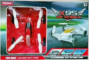Syma X9S Air Wheels 4 Channel R/C Flying Car Two Mode Land And Fly Mode BNIB