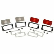 1969 Mustang Side Marker Light Lens And Bezel Kit