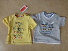 2 x Shirt, Babyshirt, Kurzarmshirt Gr.56 Kanz