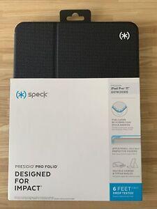 New Speck Presidio Pro Folio Case for Apple iPad Pro 11 inch Black