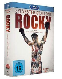 Rocky - Teil: 1-6 - Complete [Blu-ray/NEU/OVP] Sylvester Stallone