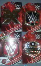 WWE World Womens US NXT Championship Belt Buckles. Brand New Set of 4