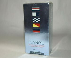 NIB Dana CANOE eau de cologne spray 1 oz - Sealed