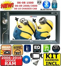 "06 07 08 09 10 RAM 6.1"" TOUCHSCREEN BLUETOOTH DVD SD DOUBLE DIN CAR STEREO RADIO"