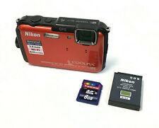 Nikon COOLPIX AW110 Camera 16MP Camera - Orange