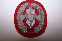 1 Aufnäher Pionier Truppe handgestickt Barett Abzeichen Bundeswehr Heer BW