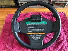Used OEM Club Car Precedent Golf Cart Steering Wheel with scorecard holder