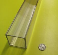 "Polycarbonate Square Tube 2.0"" Square x 1/8"" Wall x 48"" - 123"
