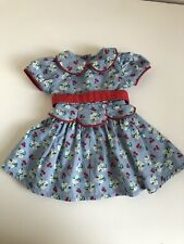 American Girl - Emily Historical Meet Dress HTF - Retired - Very Good Condition