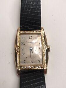Sacar 18ct Gold Deco Wristwatch